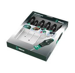 Набор отверток WERA Kraftform Comfort 1334 SK/6 SATZ 6TLG / 6 PCS   WE-031556,