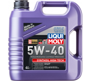 Масло моторное LIQUI-MOLY SAE  5W40 Synthoil High Tech   4 л 1915 cинтетическое,