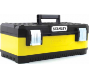 "Ящик для инструмента STANLEY YELLOW METAL PLASTIC TOOLBOX 26"" 1-95-614,"