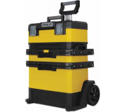 Ящик для инструмента STANLEY METAL PLASTIC ROLLING WORKSHOP YELLOW 1-95-621,