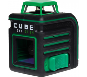 Лазерный уровень ADA CUBE 360 GREEN ULTIMATE EDITION,