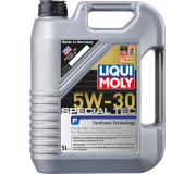 Масло моторное LIQUI-MOLY SAE  5W30 Special Tec F   5 л 8064 cинтетическое, Масла моторные