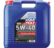 Масло моторное LIQUI-MOLY SAE  5W40 Synthoil High Tech  20 л 1308 cинтетическое,