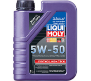 Масло моторное LIQUI-MOLY SAE  5W50 Synthoil High Tech   1 л 9066 cинтетическое,