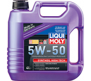 Масло моторное LIQUI-MOLY SAE  5W50 Synthoil High Tech   4 л 9067 cинтетическое,