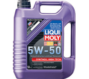 Масло моторное LIQUI-MOLY SAE  5W50 Synthoil High Tech   5 л 9068 cинтетическое,