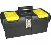 "Ящик для инструмента STANLEY 2000 METAL LATCH TOOLBOX 16"" 1-92-065, Ящики для инструмента"