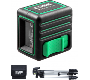 Лазерный уровень ADA CUBE MINI GREEN PROFESSIONAL EDITION [А00529]