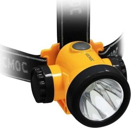 Фонарь аккумуляторный КОСМОС H3WLi-On 3W LED налобный [KOCH3WLi-On]